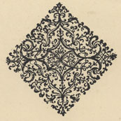 decorative design from Hariot/DeBry